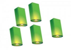 Небесный фонарик желаний - цилиндр CF90
