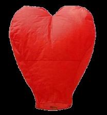 Небесный фонарик-сердце РФ103