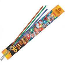 Цветной бенгальский огонь 350мм