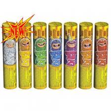 РС3480 Цветной дым (цвета: красный, оранжевый, зеленый, желтый, синий, фиолетовый, белый)
